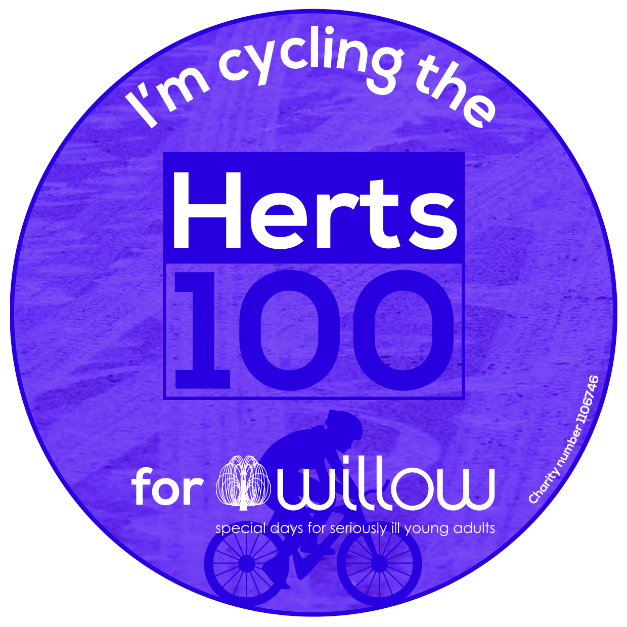 Herts 100 Badge